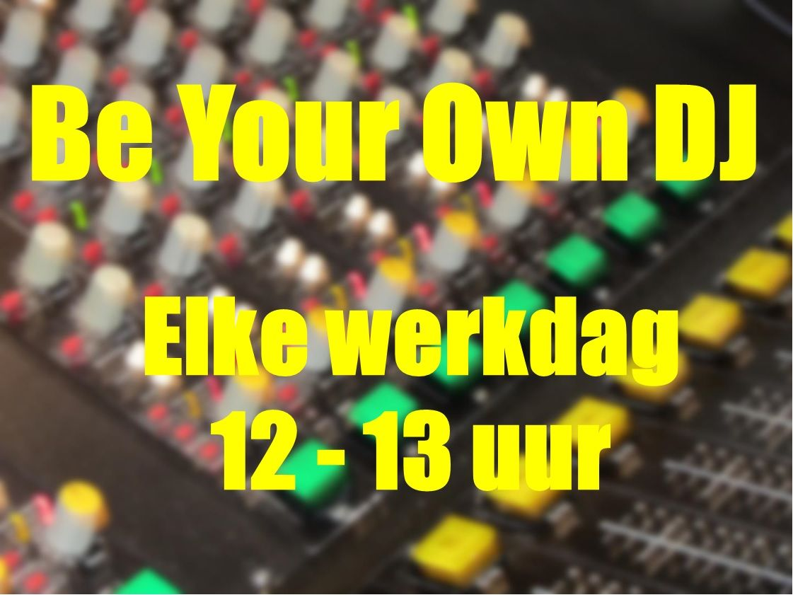 Be your own dj