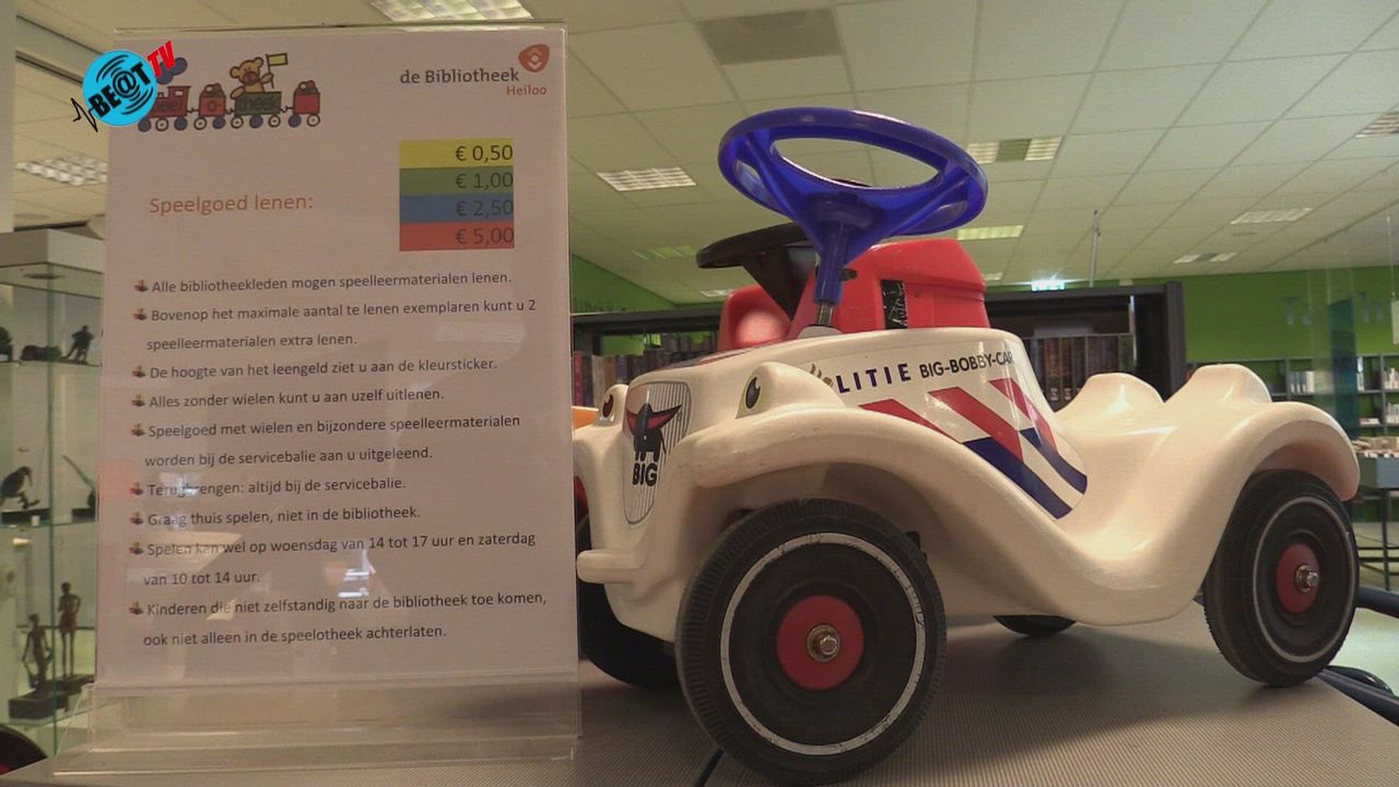 Speelgoed voor iedereen in Speelotheek Bibliotheek Heiloo (19 oktober 2021)