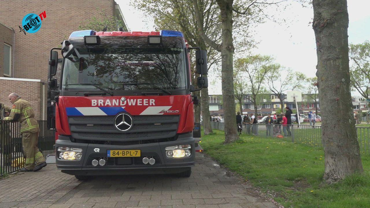Brand in basisschool De Vlindertuin in Alkmaar (12 mei 2021)