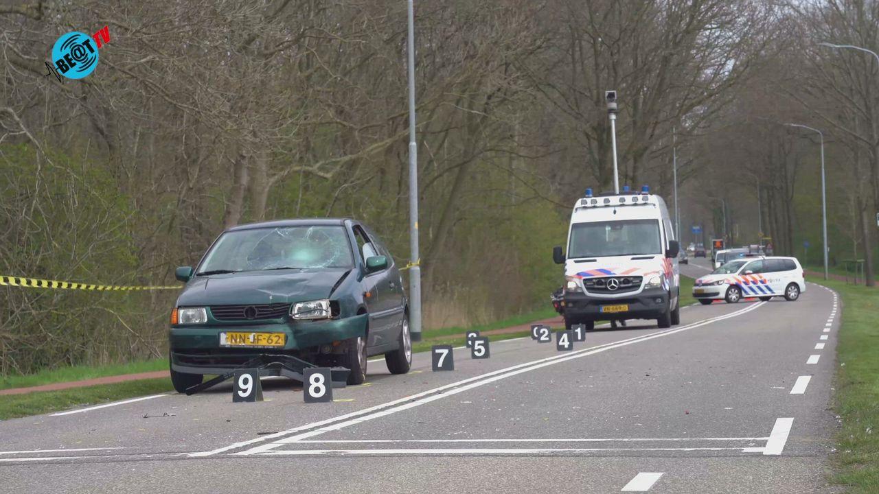 Twee personen gewond bij aanrijding Zeeweg Heiloo (20 april 2021)
